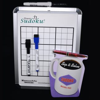 EG-MWB004 Power Sudoku2 Basic Magnetic White Board Kit