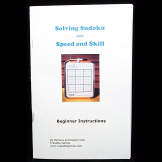 EG-BK107 Solving Sudoku With Speed and Skill