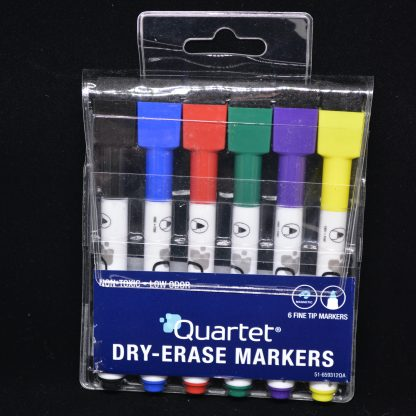 EG-DEM6104 Six-Color Dry-Erase Marker Set