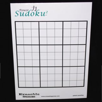 EG-LAB108 Power Sudoku^2 Label With Pre-Printed Sudoku Grid