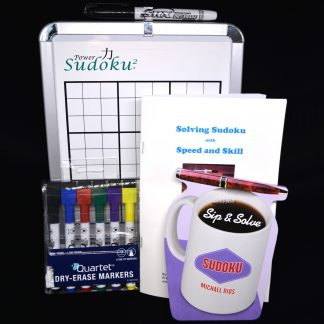 EG-WBD005 Power Sudoku^2 Deluxe Magnetic White Board Kit
